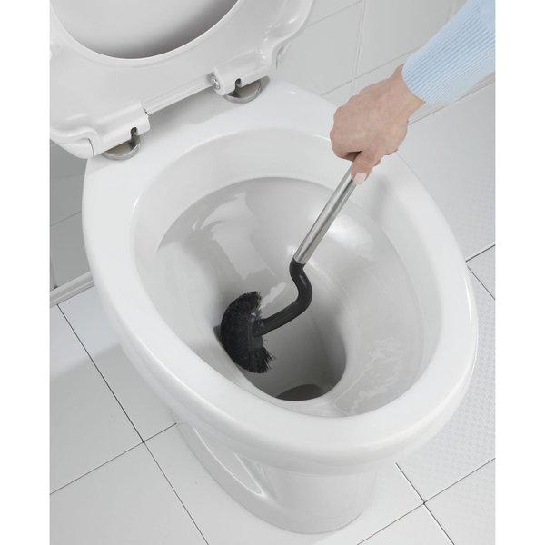Wenko Pasiano Black Ceramic Bowl Brush Set