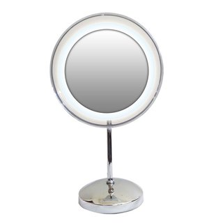 Rucci Glass Acrylic finished 10x Magnification Lighted Ring Mirror. Makeup Mirrors   Shop The Best Deals For Apr 2017