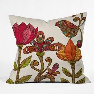 Valentina Ramos In The Garden Throw Pillow