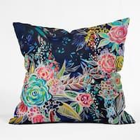 Stephanie Corfee Night Bloomers Throw Pillow