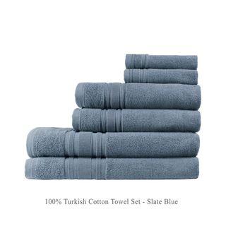 Luxury Hotel 6-Piece Turkish Cotton Towel Collection