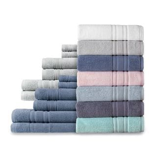 Link to Luxury Hotel 6-Piece Turkish Cotton Towel Collection - Set of 6 Similar Items in Towels
