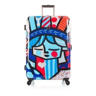 Heys Britto Freedom Multicolored 30-Inch Hardside Spinner Upright Suitcase