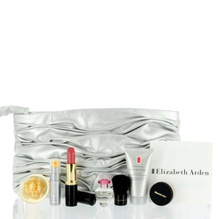 Elizabeth Arden Mini Makeup Set in Silver Evening Bag Value