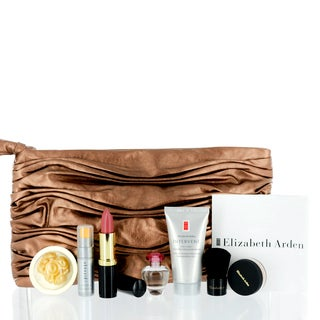 Elizabeth Arden Mini Cosmetic Set with Brown Evening Bag