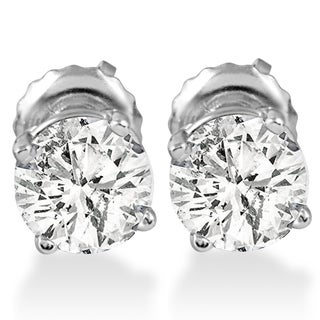 14k White Gold 1 ct TDW Diamond Screw Back Studs|https://ak1.ostkcdn.com/images/products/14622483/P21164165.jpg?_ostk_perf_=percv&impolicy=medium