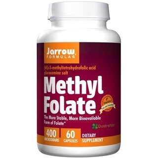 Jarrow Formulas Methyl Folate 400 mcg (60 Capsules)