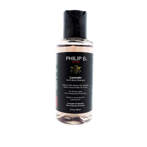 Philip B Lavender 2-ounce Hair and Body Shampoo
