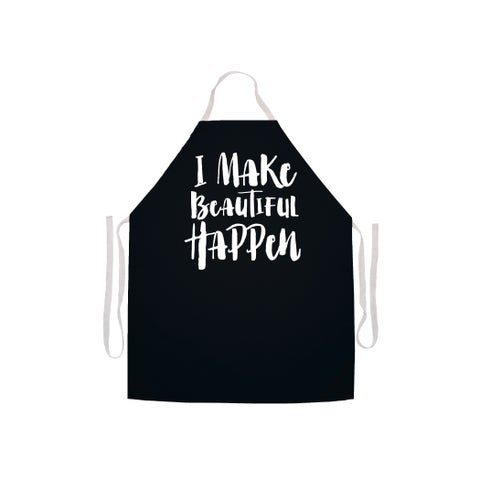 'I Make Beautiful Happen' Stylist's Apron