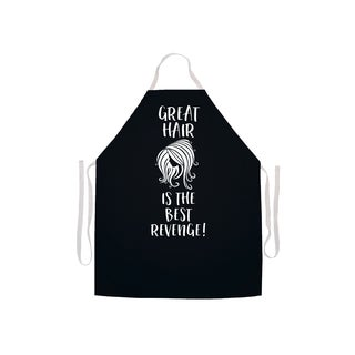 'Great Hair Is the Best Revenge' Stylist's Apron