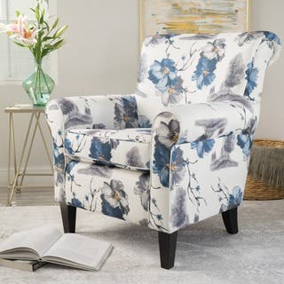 Roseville Floral Fabric Club Chair by Christopher Knight Home|https://ak1.ostkcdn.com/images/products/14622748/P21164292.jpg?impolicy=medium