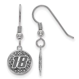 LogoArt Bali type 18 Sterling Silver Round Earrings