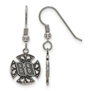 LogoArt Bali Maltese Cross #88 Stainless Steel Earrings