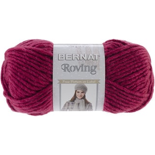 Roving Yarn-Raspberry