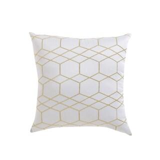 Nikki Chu Embroidered Geometric Square Pillow