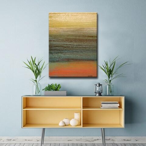 Ready2HangArt Abstract Canvas Art 'Destiny III' by Norman Wyatt, Jr.