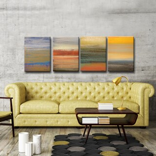 Ready2HangArt 4 Piece Wall Art Set (18 x 48) 'Destiny I-IV' by Norman Wyatt, Jr.
