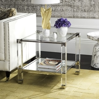 Safavieh High-Line Collection Angie Acyrlic End Table