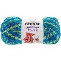 Softee Baby Yarn - Colors-Teal Rainbow