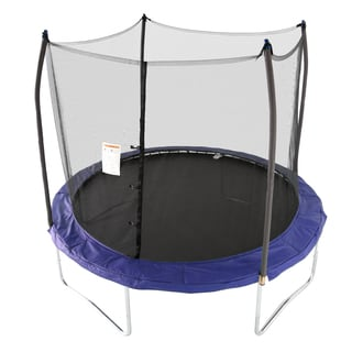 Skywalker Trampolines Blue 10-foot Round Trampoline with Enclosure
