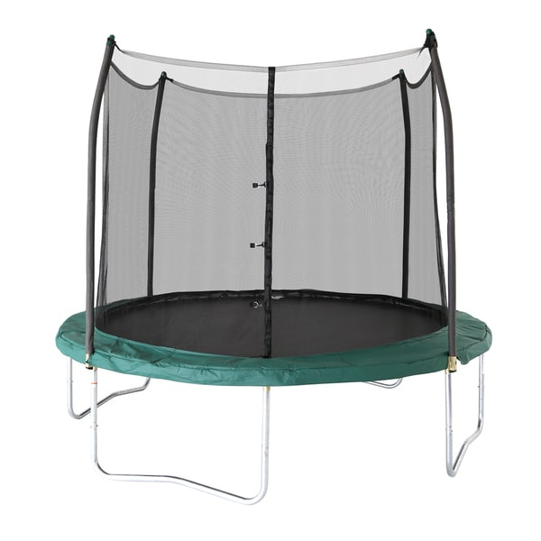 Skywalker Trampolines Green 16 Foot Oval Trampoline With: Skywalker Trampolines Green 10-foot Round Trampoline With