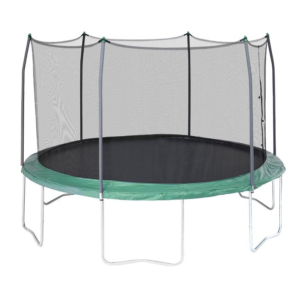Skywalker Trampolines Green 12' Round Trampoline with Enclosure