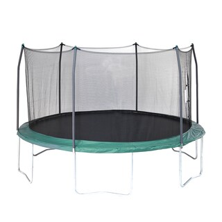Skywalker Trampolines Green 15-foot Round Trampoline with Enclosure