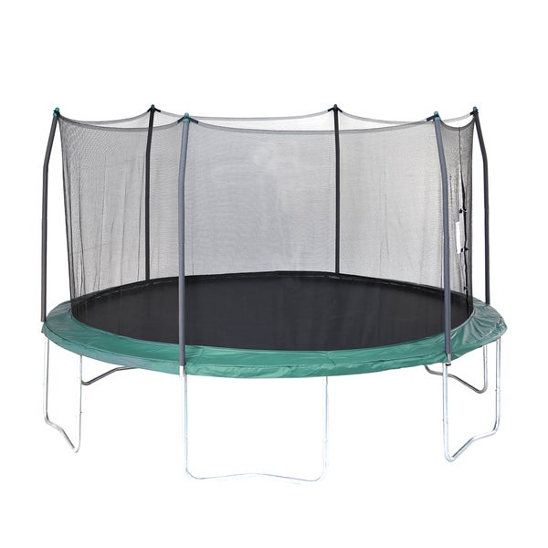 Skywalker Trampolines Green 15-foot Round Trampoline With