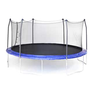 Skywalker Trampolines Blue 17' Oval Trampoline with Enclosure|https://ak1.ostkcdn.com/images/products/14626836/P21167860.jpg?impolicy=medium