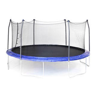 Skywalker Trampolines Blue 17' Oval Trampoline with Enclosure