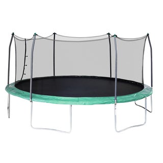 Skywalker Trampolines Green 17-foot Oval Trampoline With Enclosure