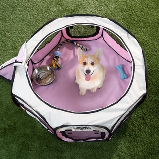 PETMKAER Portable Pop Up Pet Play Pen