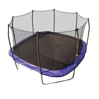 Skywalker Tr&olines Blue 13-foot Square Tr&oline with Enclosure  sc 1 st  Tr&olines For Less | Overstock.com & Trampolines For Less | Overstock.com