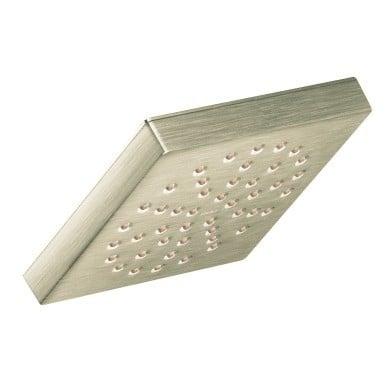 Moen Brushed Nickel Brass 90-degree One-Function Shower Spray Head