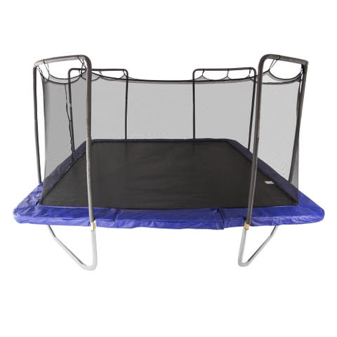 Skywalker Trampolines Blue 15' Square Trampoline with Enclosure
