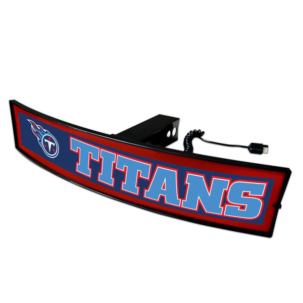 Fanmats NFL Tennessee Titans Light-up Hitch Cover