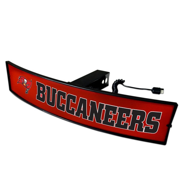 Fanmats NFL Tampa Bay Buccaneers Light-up Hitch Cover