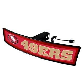 Fanmats NFL San Francisco 49ers Light-up Hitch Cover