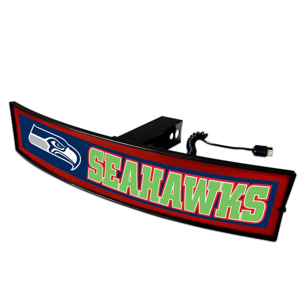 Fanmats NFL Seattle Seahawks DOT-approved Light-up Hitch Cover