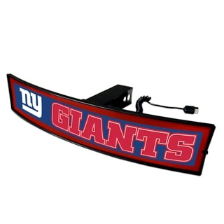 Fanmats NFL New York Giants Red Acrylic Light-up Hitch Cover