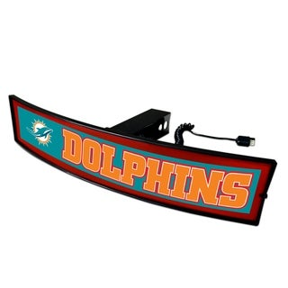 Fanmats NFL Miami Dolphins Light-up Hitch Cover
