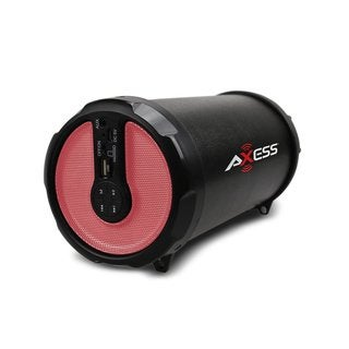 AXESS 2.1 Indoor/Outdoor Hi-Fi Pink Bluetooth Speaker