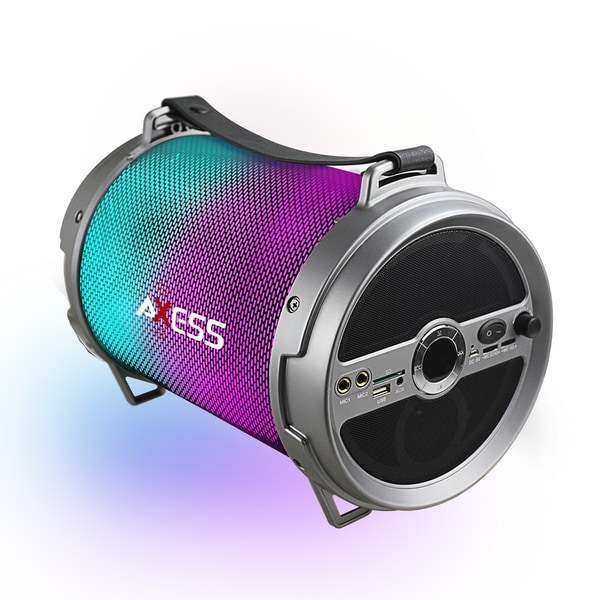 Shop Axess Silver Bluetooth LED Lights Rechargeable