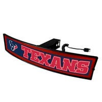Fanmats NFL Houston Texans Acrylic Light-up Hitch Cover
