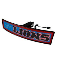 Fanmats NFL Detroit Lions Light-up Hitch Cover