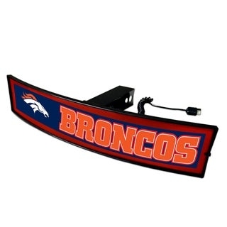Fanmats NFL Denver Broncos Light-up Hitch Cover