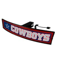 Fanmats NFL Dallas Cowboys Acrylic Light-up Hitch Cover