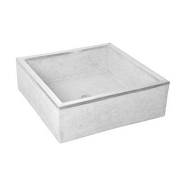 Shop Fiat Stockton Terrazzo Mop Basin Tsb100501 Grey