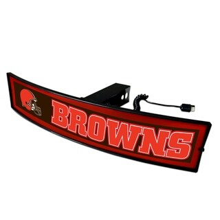 NFL Cleveland Browns Light-up Hitch Cover
