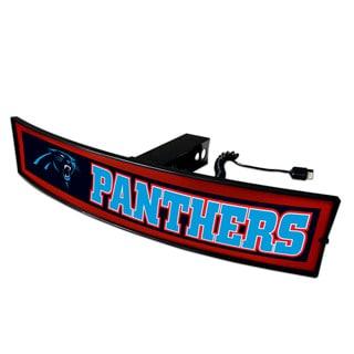 Fanmats NFL Carolina Panthers Acrylic Light-up Hitch Cover